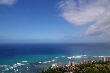 ハワイの海と空