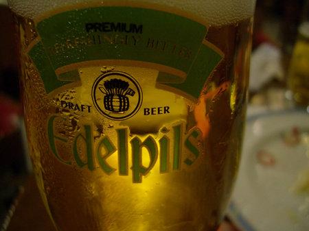 大好きなビール