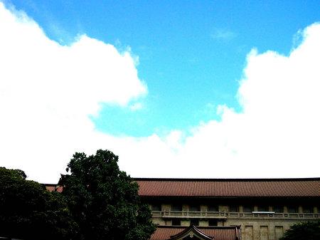 東京国立博物館の空